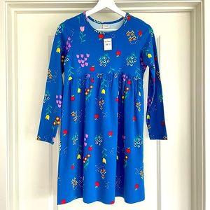 Hanna Andersson Girls Long Sleeve Cotton Dress